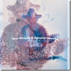 __CD Album Front Cover Ron Wright _ Special Guests